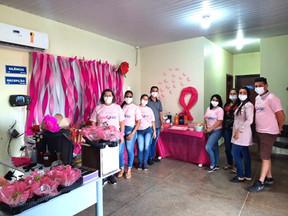 Secretaria de Saúde realiza ações da Campanha Outubro Rosa na Vila Simione