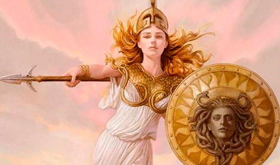 mitologia grega, o nome Minerva, refere-se à deusa Palas Atena