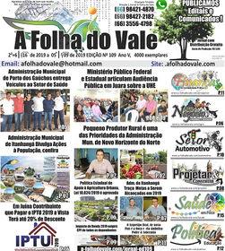 ED. 109, Jornal A Folha do Vale, P.01A.j