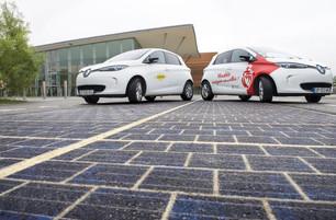 França vai pavimentar mil km de estrada com painéis solares