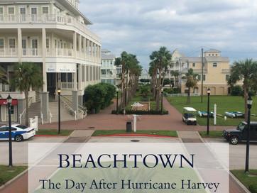 Hurricane Harvey's Visit to Beachtown