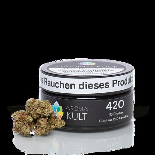 "CBD Blüten ""420"" 10g"
