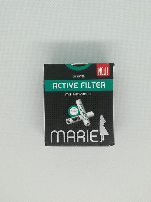 Marie Active Filter mit Aktivkohle (34 Filter)