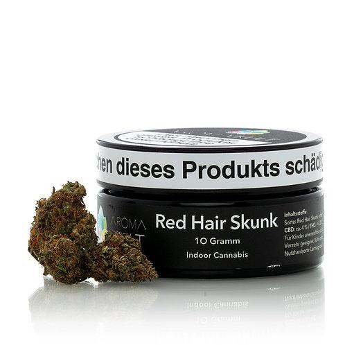 """CBD Blüten """"Red Hair Skunk"""" 10 g"""