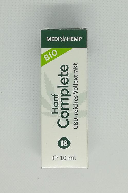 Medihemp CBD-reiches Vollextrakt 18% 10 ml