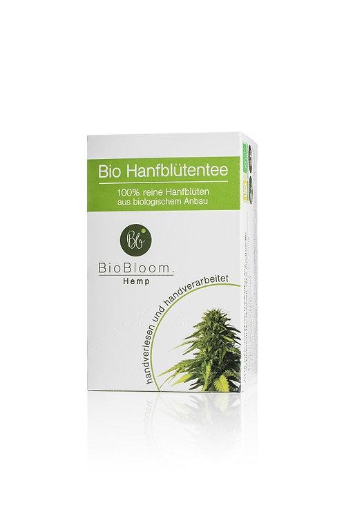 Bio Hanfblütentee Teebox mit 20 Teebeutel