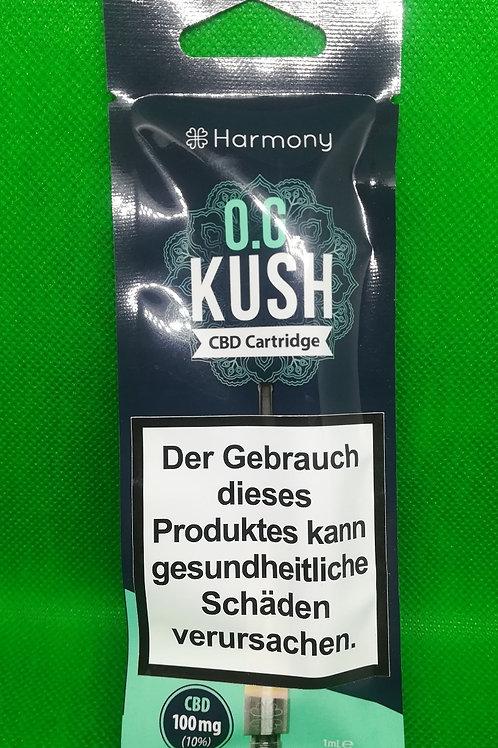 Harmony O. G. Kush CBD Cartridge