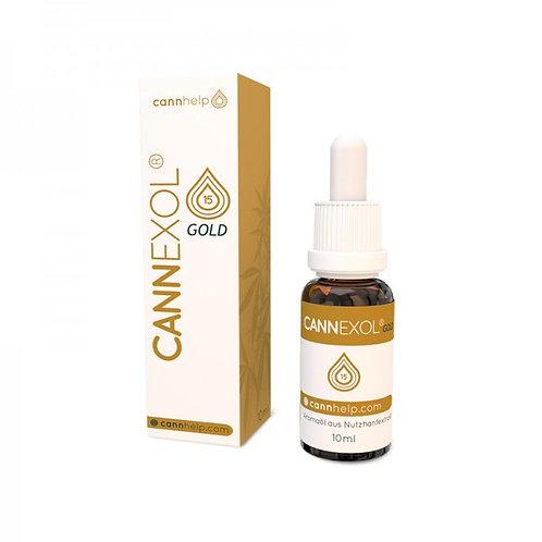 Cannexol Gold 15 % CBD 10 ml