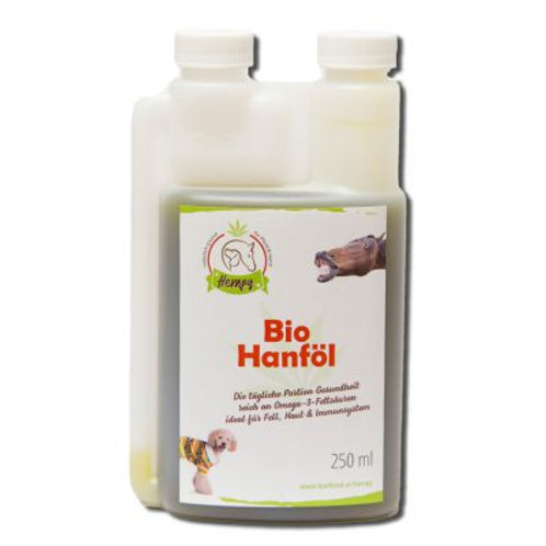 HEMPY Bio Hanföl für Tiere 250 ml