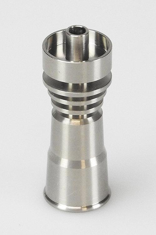 Titanölpfanne, für Male-Schliff, 14,5mm und 18,8mm