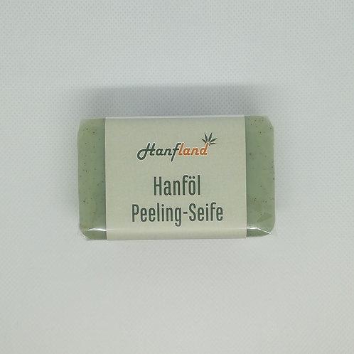 Hanföl Peeling-Seife