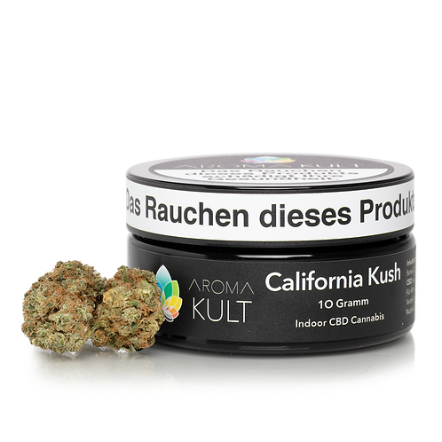 """CBD Blüten """"California Kush"""" 10 g"""