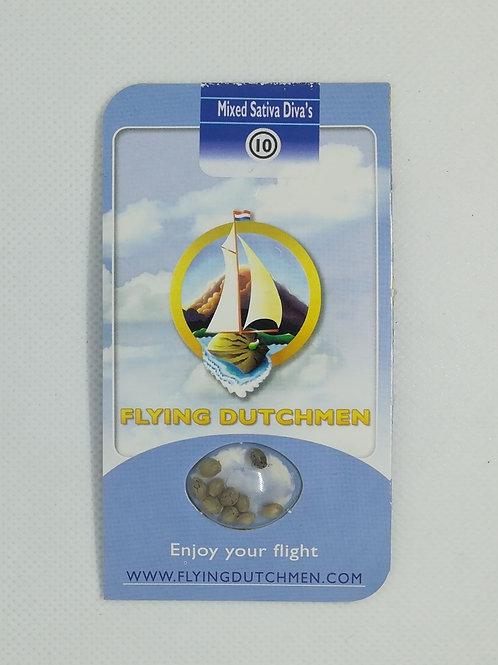 Flying Dutchman Mixed Sativa Diva's, regulär 10 Stk.
