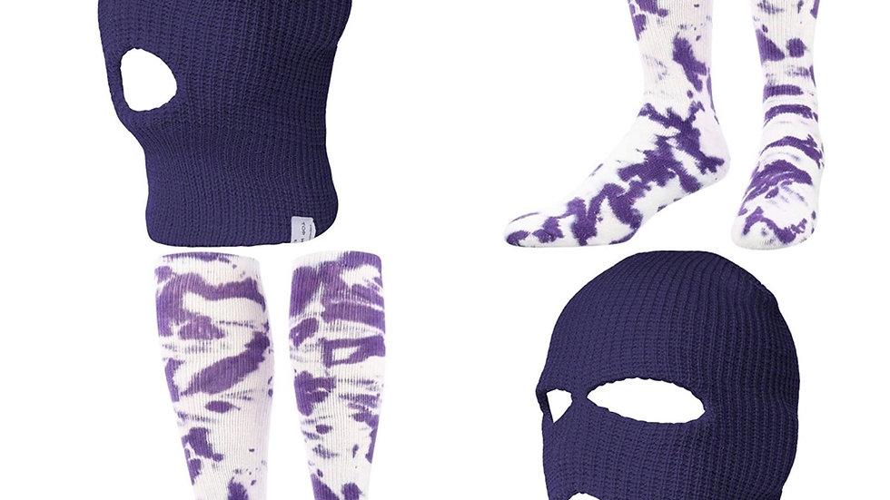 Purple Mask & Socks
