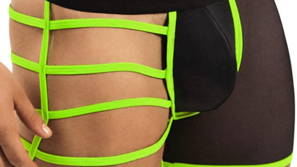 Lime green straps