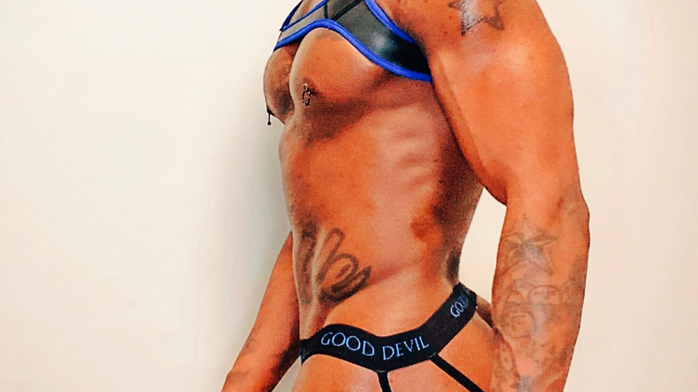 Blue Harness Set