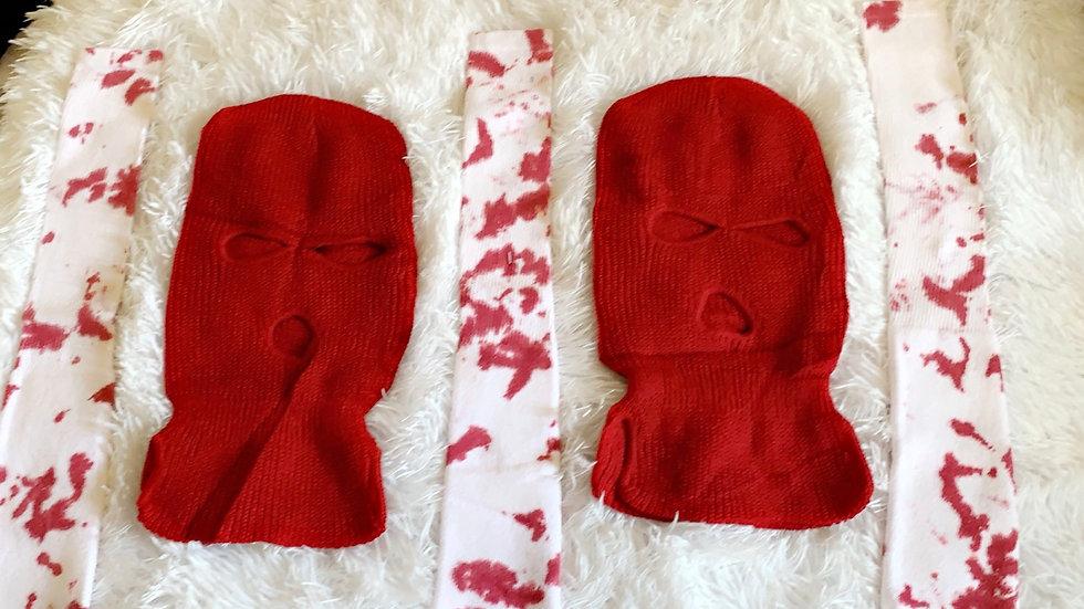 Red Socks & Mask