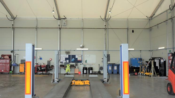 Vehicle Maintenance Unit Internal