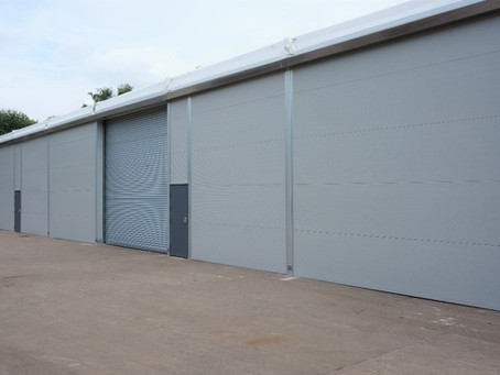 Insulated workshop and warehouse for Ham Baker Site (DMI Group)