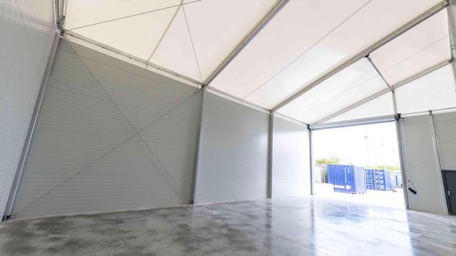 internal temporary building