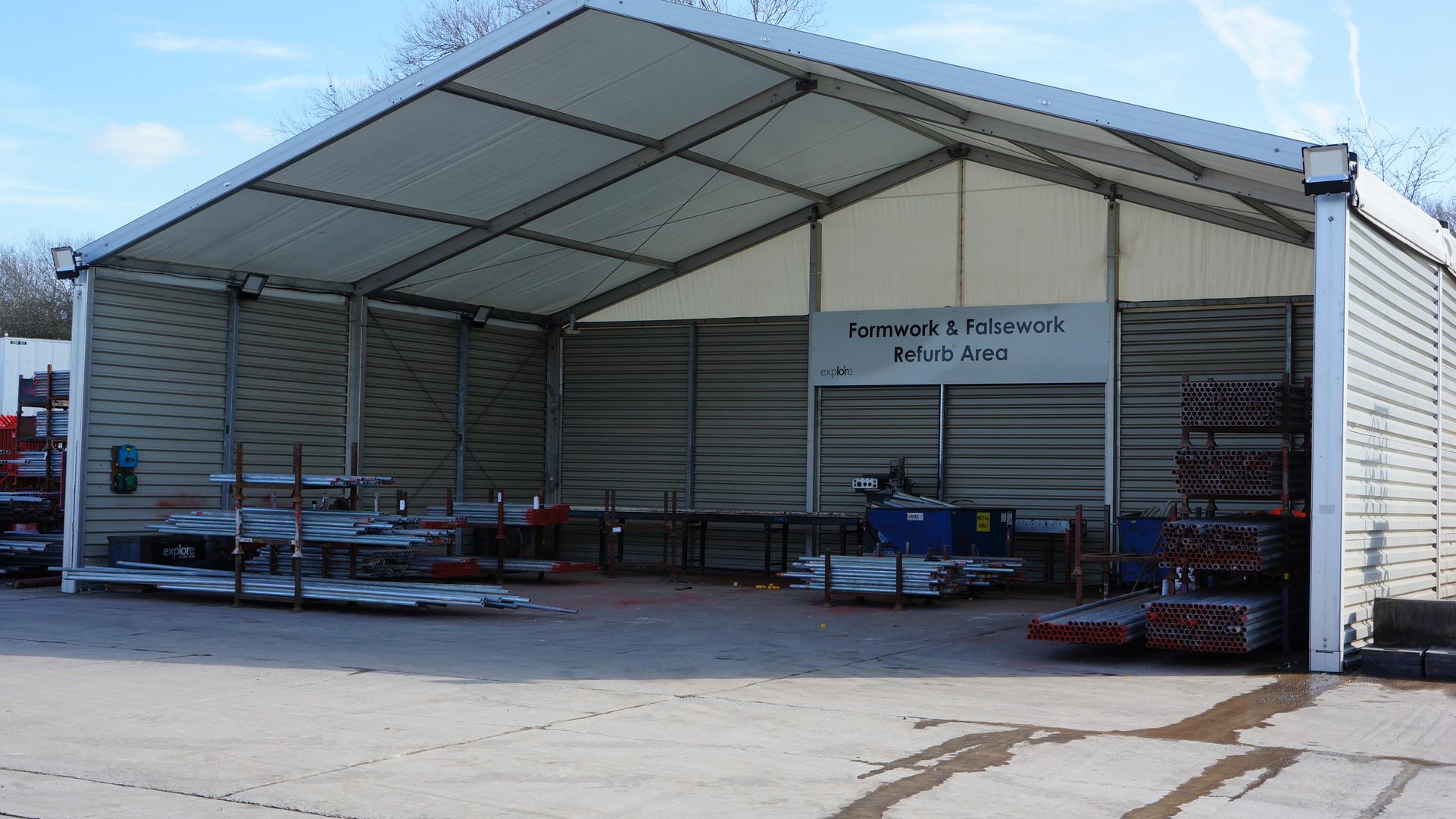 Temporary Canopy Building