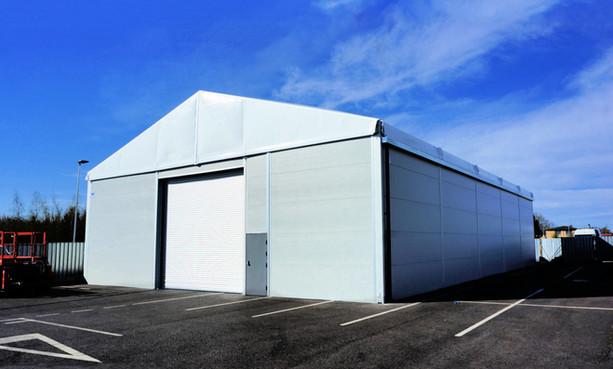 temp building for Council