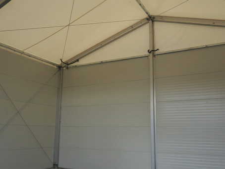 Insulated Temporary Workshop Building for A & B Containers