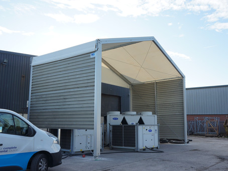 Commercial Canopy Building for rent