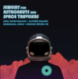 "Exhibition poster for ""Jewelry for Astronauts and Space Travelers"""