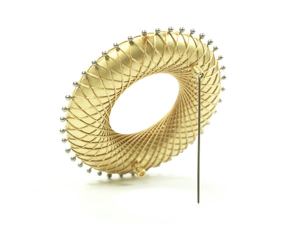 Contemporary jewelry Brooch