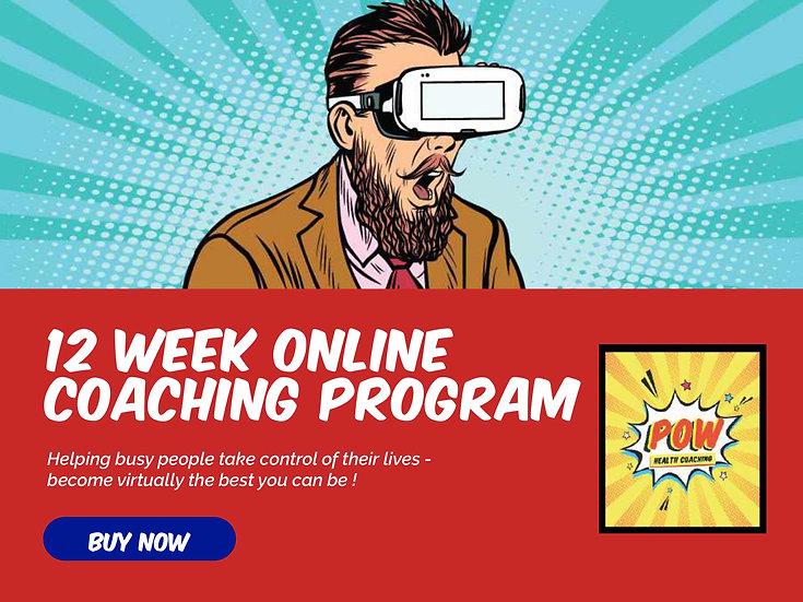 12 Week Online Coaching program