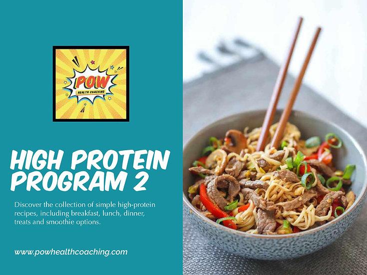 High Protein Program 2 - PDF