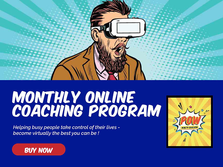 Monthly Online Coaching program