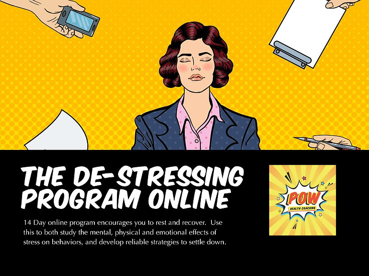 The Practice De-stressing Program - ONLINE
