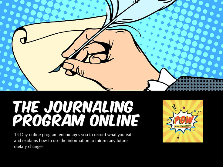 Journaling Program - ONLINE