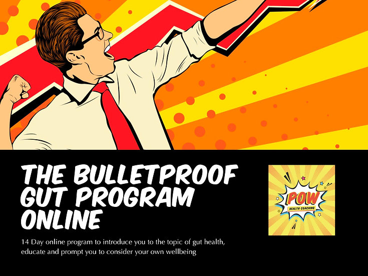 Bulletproof Gut Program - ONLINE