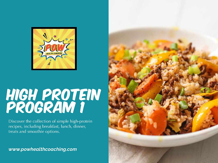 High Protein Program 1 - PDF