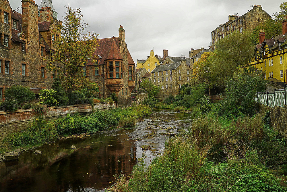 Take a stroll in Dean Village and leave the hustle and bustle of the city behind.