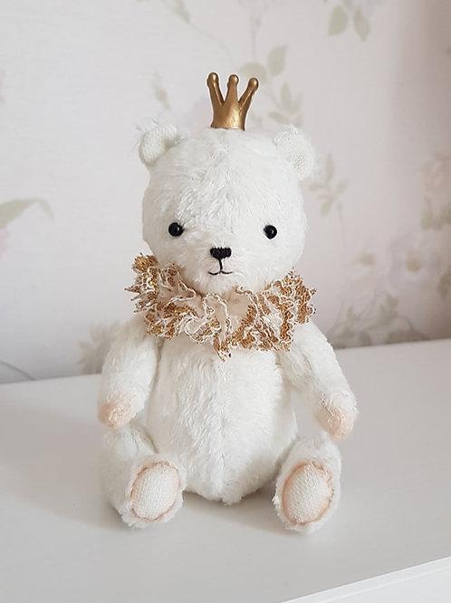 Cute white teddy