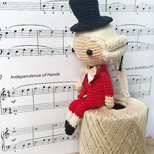 Mozart - Shia Doll - Dutch Pattern