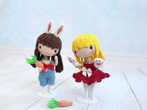 Sam Valentine & Easter Doll