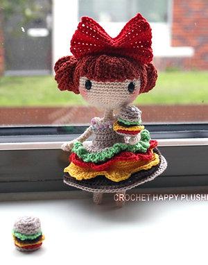 Lily the Hamburger - Shia Doll