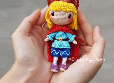 Crochet Pattern Prince Charlie