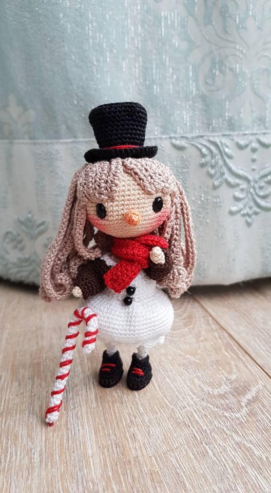 Amigurumi pattern created by Crochet Happy Plushie