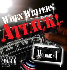 When Writers Attack! CD Cover 2010