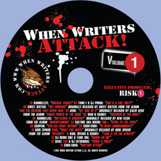 When Writers Attack! CD Label 2010