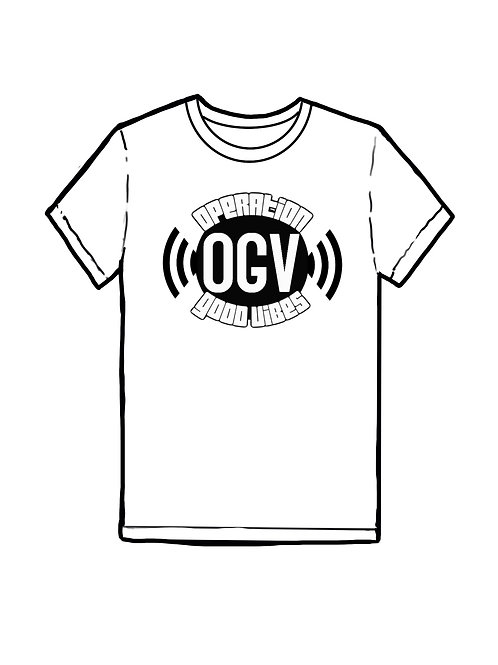 Operation Good Vibes T-Shirt (White)