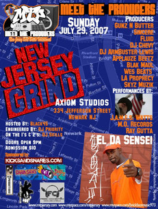 MTP (Meet The Producers) Flyer July 2007