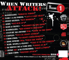 When Writers Attack! CD Cover