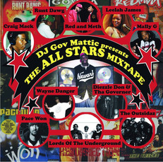 The All-Stars Mixtape CD cover 2011